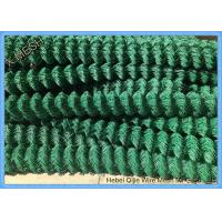 Best 6 Gauge PVC Coated Chain Link Fence Wire Diameter 1.6m - 5 Mm Quick To Install wholesale