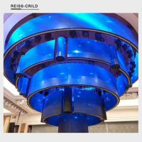 Best Low Attenuation Flexible LED Display Panels Large Viewing Angle High Uniformity wholesale