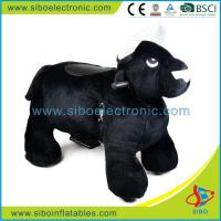 Best Fast Seller Coin Operated Battery Walking Animal Rides Coin Operated Plush Motorcycle wholesale