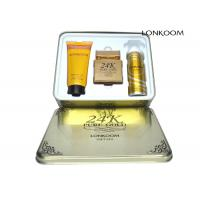 Best Lonkoom 24k Pure Gold Perfume Gift Sets With GMPC / ISO22716 / MSDS wholesale