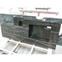 China Dark Brown Marble Polished Natural Stone Brown Marble Kitchen Countertops Bathroom Vanity Tops & Table Tops on sale