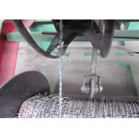 Best High Speed Barbed Wire Manufacturing Machine , High Accuracy Barbed Wire Fencing Machine wholesale