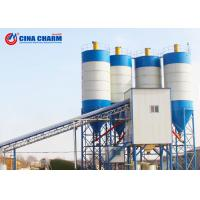 Buy cheap Stable Stationary Concrete Batching Plant Ready Mix 100mm Max Aggregate Diameter from wholesalers