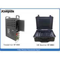 Best Mobile Vehicle Cofdm Video Transmission AES Encryption With Portable Monitor Receiver wholesale