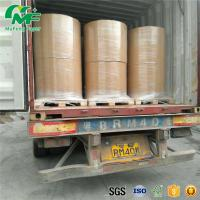 Best Nontoxic 55gsm Thermal Paper Jumbo Rolls , Jumbo Paper Roll High Rubbing Resistance wholesale
