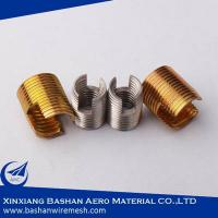 China self tapping threaded inserts tap lok hole series threaded inserts on sale