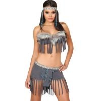 Best Fashion Princess Grey Wolf Indian Costume Womens Halloween Costumes wholesale