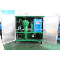 China Double Stage Vacuum Transformer Oil Recover Plant With Fully Cabinet,Capacitor Oil Purifier, Transformer Oiling Machine on sale