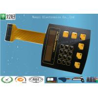 Best High Glossy Metal Dome Membrane Switch With Aluminum Backplate & FPC Flexible Printed Circuit wholesale