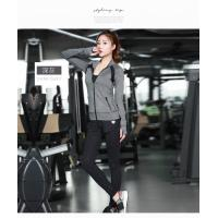 China Light Weight Womens Sports Coat , Ladies Sports Coats Long Sleeve Zipper Front on sale