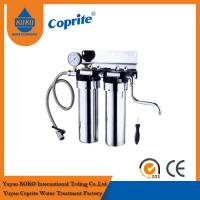Best Wholehouse Two Stage Under Sink 10 Stainless Steel Water Purifier With Pressure Gauge wholesale