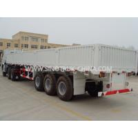 Best Dropside Lightweight Heavy Duty Semi Trailers With Waterproof Cover And Slider Roof wholesale