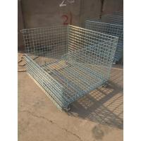Best Wire Mesh Container with Removable Wheel wholesale