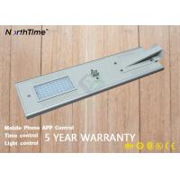 China Motion Sensor Solar LED Outdoor Lights With Lithium Battery 12V 36AH on sale