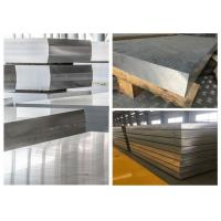Best Hard Thick Flat Aluminum Sheet , Alloy 7075 Aluminum Sheet Material For Automobile wholesale