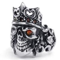 Best Tagor Jewelry Super Fashion 316L Stainless Steel Casting Rings Collection PXR010 wholesale