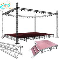 Best Outdoor Events Portable Aluminum Stage For Truss Roof Systems wholesale