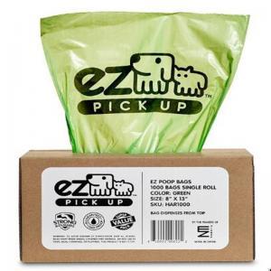 China Corn Starch Based PLA Compostable Dog Poop Disposal Bag 100% Biodegradable Type on sale