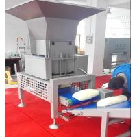 Best SEW Motor Pastry Dough Sheeting Machine With Auto Dough Block Cutting Hopper wholesale
