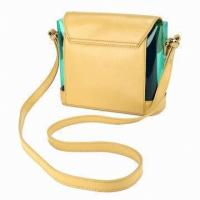 China Crossbody Leather Bags For Women / Summer Beach Bag Of  Long Handle on sale
