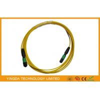 Best Single mode 12 Fiber Optic MTP MPO Cable, MPO Patch Cord Truck Cable Jumper wholesale