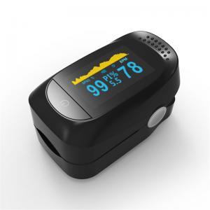 China Teveik Pulse Ox Finger Probe SpO2 Finger Pulse Oximeter With Alarm on sale