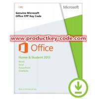 office home and student 2013 using product key