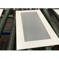 China 4mm Frosted Tempered Glass , Silk Screen Printing On Glass For Cupboard / Furniture on sale