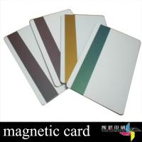 Best Hotel PVC Magnetic Stripe Cards With Signature Panel For Retail Store wholesale
