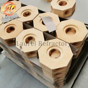 China High Alumina Refractory Bricks / Insulation Firebrick SK34 SK36 SK38 SK40 on sale