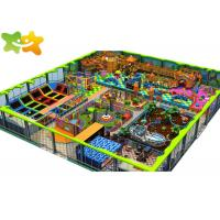 Best Professional Soft Indoor Commercial Playground Equipment / Jump Trampoline Park wholesale