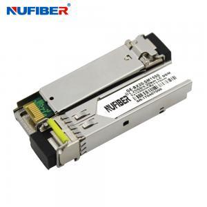 Best 60km 1490nm 1550nm 1.25G SFP Transceiver Sfp Module Lc Connector wholesale