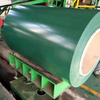China Colour And Galvanized Prepainted Steel Strip Coil Ppgl 40G / M2 To 275G / M2 on sale