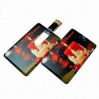 Best Mini Card-shaped USB Flash Drive with Up to 16GB Capacity, OEM Services are Provided wholesale