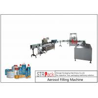 Best Rotary Automatic Aerosol Gas Filling Machine Capacity 3600CPH For Butane Gas wholesale