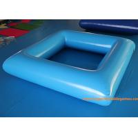 China Mini Blue Inflatable Kiddie Pool / Water Swimming Pool Toys For Kids on sale