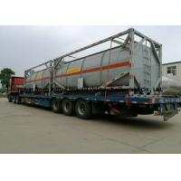 Best 20ft Hydrochloric acid, Sodium hypochlorite Tank Containers Steel Lined PE 16mm wholesale