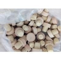 Best Customized Small Wooden Vial Cork Non Spill Type For Glass Bottle Vials wholesale
