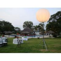 China Event Space Moon Balloon Lighting Of Halogen LED HMI / Metal Halide Lamps on sale
