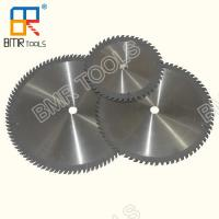China Industrial Grade TCT Circular Saw Blade YG8 Tips for Aluminum Copper Non-Ferrous Metal Plastic Acrylic Glass Cutting on sale
