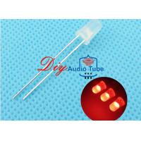 Best 5MM Diffused DIY LED Diode Red Lighting Round Top Super Bright Light Bulb wholesale