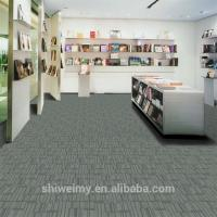China High quality textiles carpet tile with multi level loop pile on sale