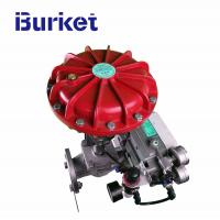Best XYSF40 Film Sleeve Type Steam flow control Pneumatic Shut-off Valve With Positioner Option for dyeing machine wholesale