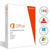 Cheap Standard 32/64 Bit Office 2016 Retail Box Package License Key 100% Online for sale