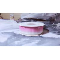 China Colourful Silk Organza Ribbon Color Gradient Design For Headwears / Hanging Ornaments on sale