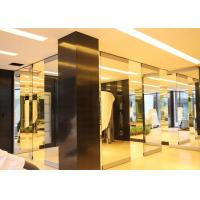 Best Folding Glass Partition Wall , Interior Glass Door , Movable And Sliding wholesale
