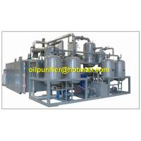 Best Advanced vacuum distillation technology,refining base oil ,engine oil recycling system wholesale