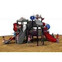 China Outdoor Toys Structures Type kids plastic multi playgrounds  exercise equipment on sale