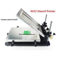 Buy cheap Desktop SMT Manual Pick And Place Machine 320*440mm Stencil Printer Silk screen printer product