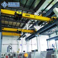 China 16 Ton Workshop Overhead Crane System Geared Motor Frequency Control Low Headroom on sale